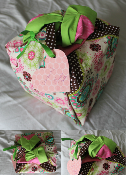 Baby Blanket Wrapped Gift