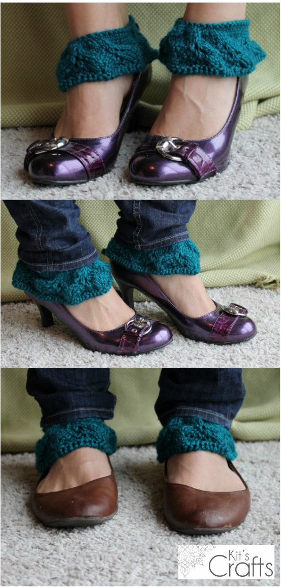 Kit's Crafts - Fancy Spats - Liana