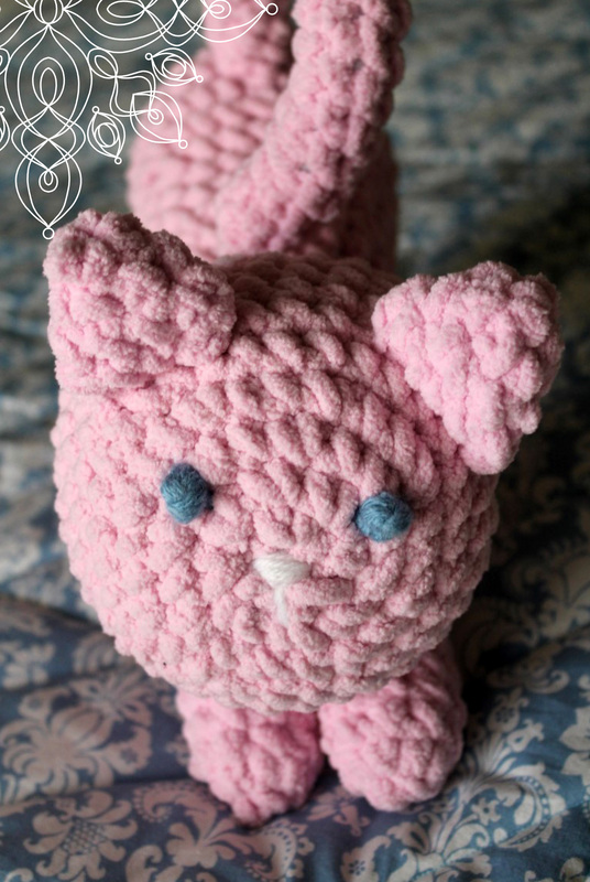 Kit's Crafts - Crochet Pouncing Kitten