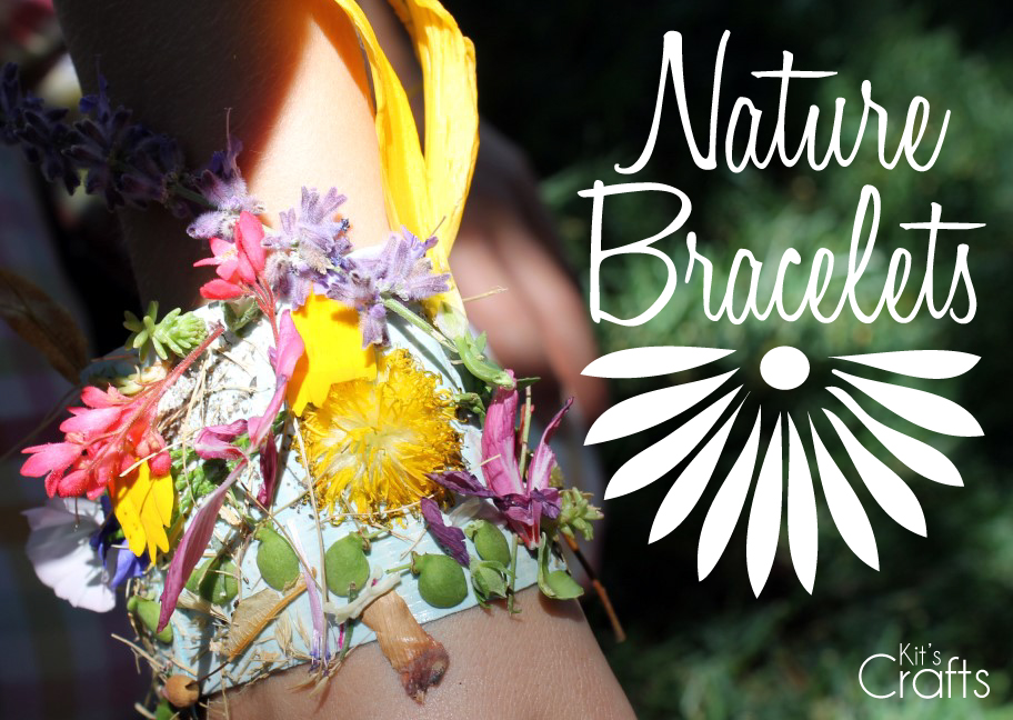 Kit's Crafts - Nature Bracelets