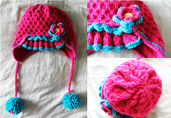 Kit's Crafts - Girly Girl Hat