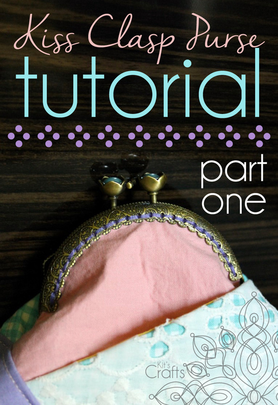 Kit's Crafts - Kiss Clasp Purse Tutorial
