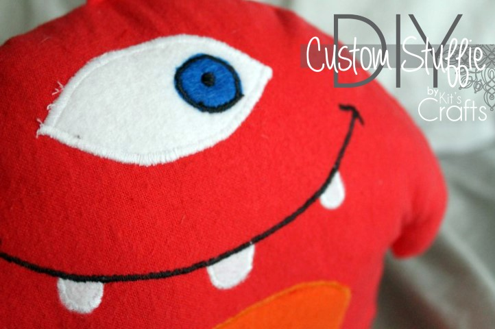 Kit's Crafts - DIY Custom Stuffie