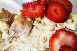 Kit's Crafts - Cheesecake Bread Pudding