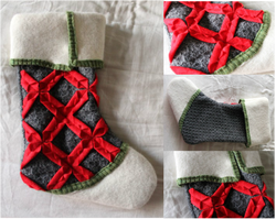 Kit's Crafts - Origami Stocking