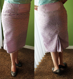 Kit's Crafts - DIY Lace Skirt