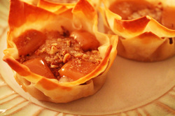 Kit's Crafts - Pear Surprise #MiniPies