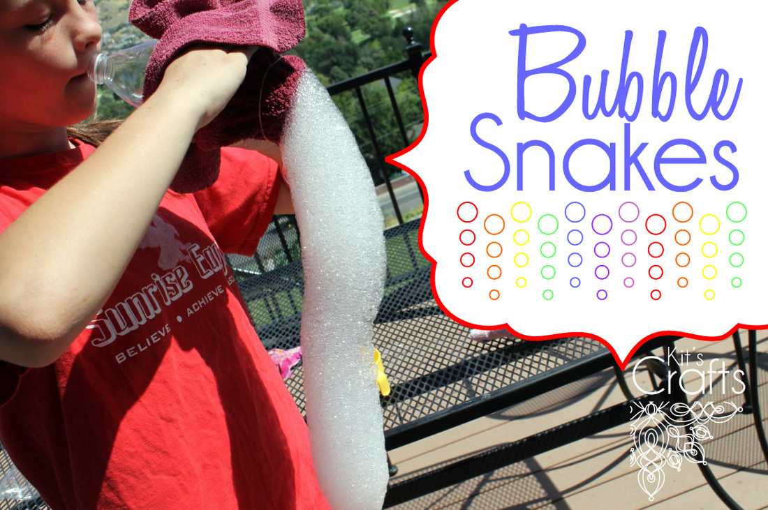 Kit's Crafts - Bubble Snakes