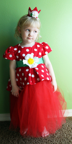 Kit's Crafts - Strawberry Princess Costume