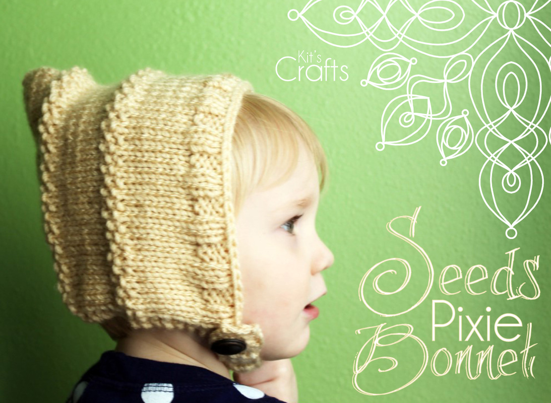 Kit's Crafts - Seeds Pixie Bonnet