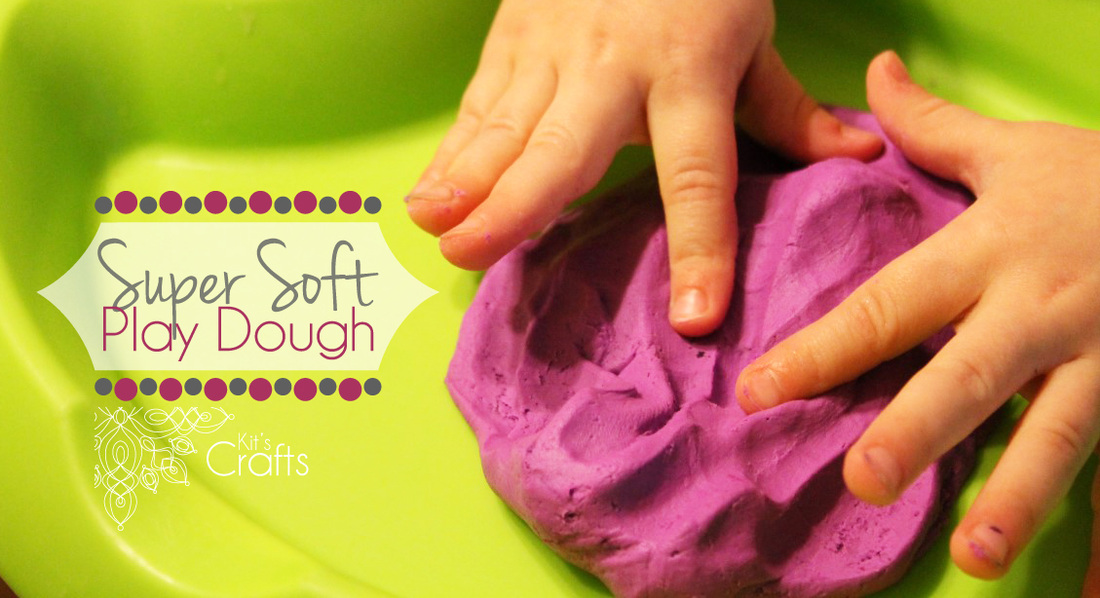 Kit's Crafts - Super Soft Play Dough