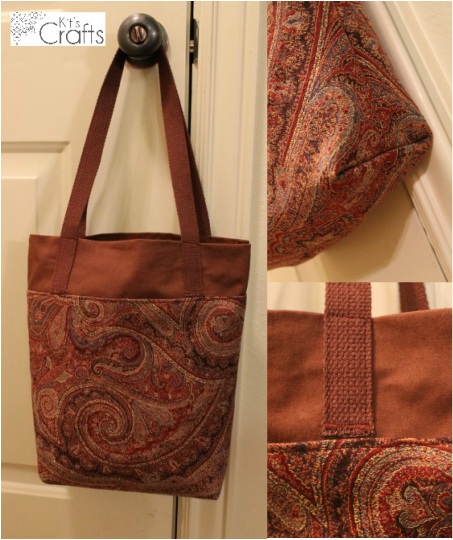 Kit's Crafts - DIY Library Bag